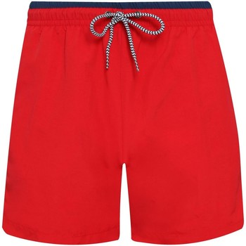 textil Hombre Shorts / Bermudas Asquith & Fox AQ053 Rojo/ Azul marino