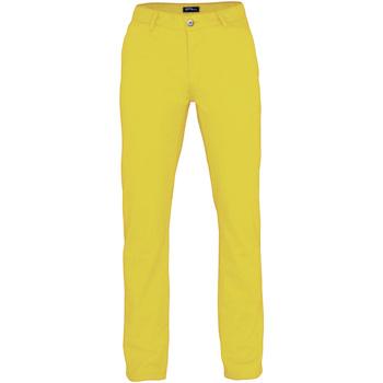 textil Hombre Pantalones de chándal Asquith & Fox AQ050 Amarillo zest
