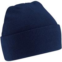 Accesorios textil Gorro Beechfield Soft Feel Azul marino