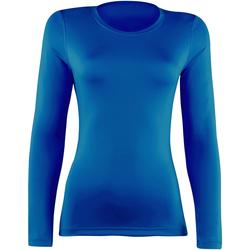 textil Mujer Camisetas manga larga Rhino RH003 Azul