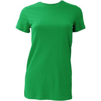 textil Mujer Camisetas manga corta Bella + Canvas BE6004 Verde césped
