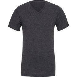 textil Hombre Camisetas manga corta Bella + Canvas CA3005 Gris oscuro mate