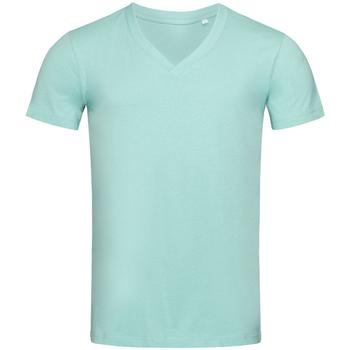 textil Hombre Camisetas manga corta Stedman Stars  Azul Escarcha