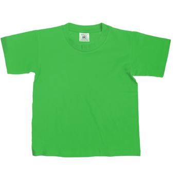 textil Niños Camisetas manga corta B And C Exact Verde césped