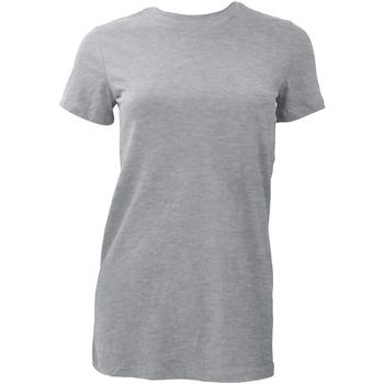 textil Mujer Camisetas manga corta Bella + Canvas BE6004 Gris claro