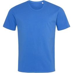 textil Hombre Camisetas manga corta Stedman  Azul royal