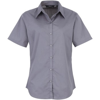 textil Mujer Camisas Premier PR302 Acero