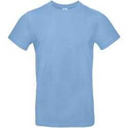 textil Hombre Camisetas manga corta B And C TU03T Azul cielo
