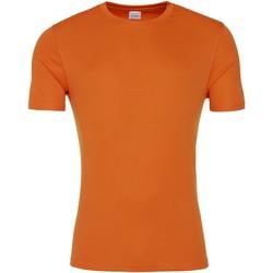 textil Hombre Camisetas manga corta Awdis JC020 Naranja Crush