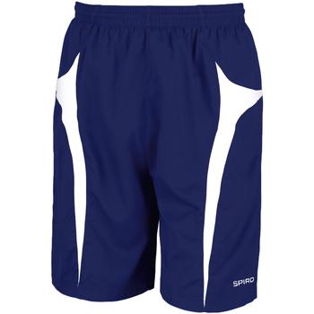 textil Hombre Shorts / Bermudas Spiro S184X Azul marino/ Blanco