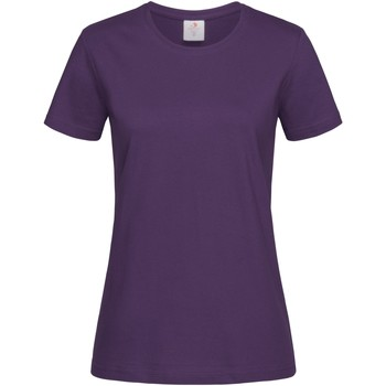 textil Mujer Camisetas manga corta Stedman  Baya Salvaje