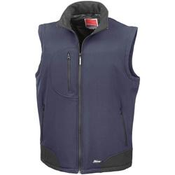 textil Hombre Chaquetas de punto Result R123X Azul marino/Negro