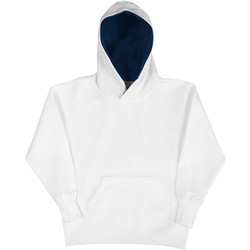 textil Niños Sudaderas Sg SG24K Blanco/Azul marino