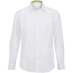 textil Hombre Camisas manga larga Alexandra Hospitality Blaco/Lima
