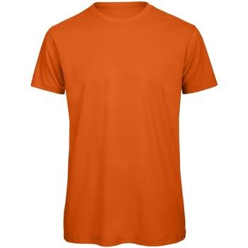 textil Hombre Camisetas manga corta B And C TM042 Naranja Urbano