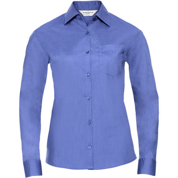 textil Mujer Camisas Russell 934F Azul corporativo