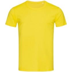 textil Hombre Camisetas manga corta Stedman Stars Stars Amarillo Daisy