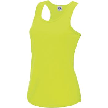 textil Mujer Camisetas sin mangas Awdis JC015 Amarillo eléctrico