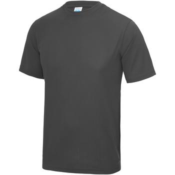 textil Niños Camisetas manga corta Awdis JC01J Carbón