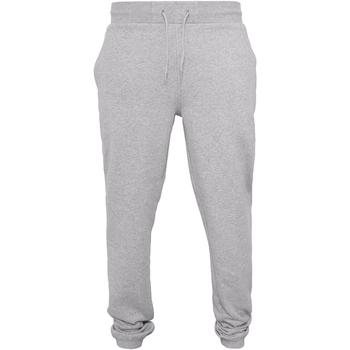textil Hombre Pantalones de chándal Build Your Brand BY014 Gris