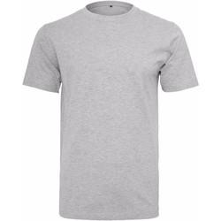 textil Hombre Camisetas manga corta Build Your Brand Round Neck Gris