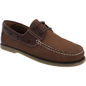 Zapatos Hombre Zapatos náuticos Dek  Piel/Nubuck marrón