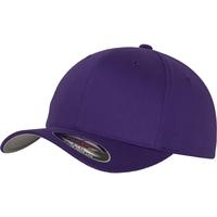 Accesorios textil Gorra Yupoong FF6277 Púrpura
