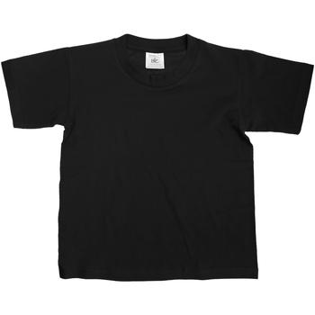 textil Niños Camisetas manga corta B And C TK300 Negro