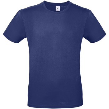 textil Hombre Camisetas manga corta B And C TU01T Azul Eléctrico