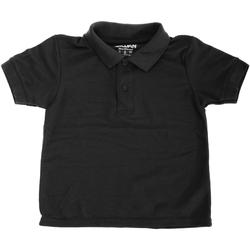 textil Niños Polos manga corta Gildan 72800B Negro