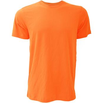 textil Hombre Camisetas manga corta Bella + Canvas CA3001 Naranja