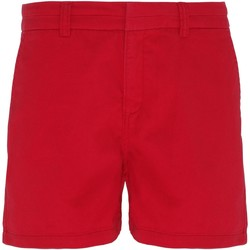 textil Mujer Shorts / Bermudas Asquith & Fox AQ061 Rojo