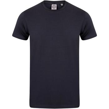 textil Niños Camisetas manga corta Skinni Fit SM121 Azul marino