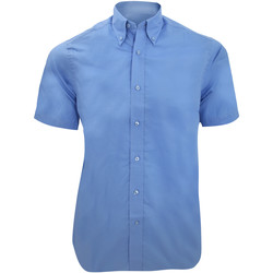 textil Hombre Camisas manga corta Kustom Kit KK385 Azul claro