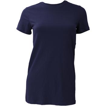 textil Mujer Camisetas manga corta Bella + Canvas BE6004 Azul real