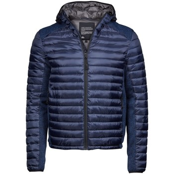 textil Hombre Plumas Tee Jays TJ9610 Azul Marino Admiral/Azul Marino Jaspeado