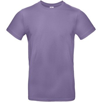 textil Hombre Camisetas manga corta B And C TU03T Lila Millennial