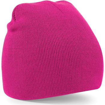 Accesorios textil Gorro Beechfield B44 Fucsia