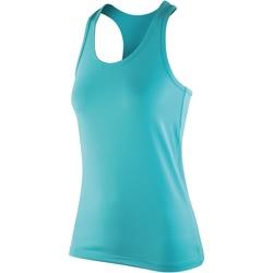 textil Mujer Camisetas sin mangas Spiro S281F Verde