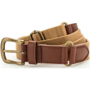 Accesorios textil Hombre Cinturones Asquith & Fox AQ902 Camel