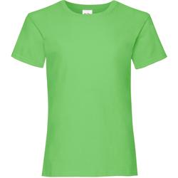 textil Niña Camisetas manga corta Fruit Of The Loom Valueweight Lima