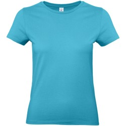 textil Mujer Camisetas manga corta B And C E190 Azul Piscina