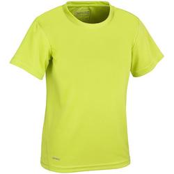 textil Niño Camisetas manga corta Spiro S253J Verde lima