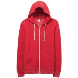 textil Hombre Sudaderas Alternative Apparel Alternative Rojo Eco