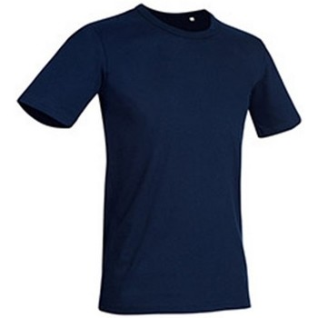 textil Hombre Camisetas manga corta Stedman Stars Morgan Azul Marina