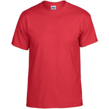 textil Camisetas manga corta Gildan DryBlend Rojo
