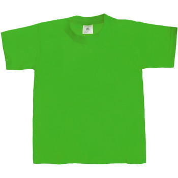 textil Niños Camisetas manga corta B And C Exact 190 Verde césped