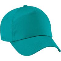 Accesorios textil Niños Gorra Beechfield B10B Verde esmeralda