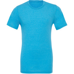 textil Hombre Camisetas manga corta Bella + Canvas CA3413 Azul Agua Jaspeado
