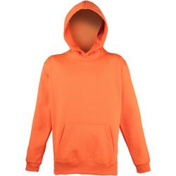 textil Niños Sudaderas Awdis JH04J Naranja eléctrico